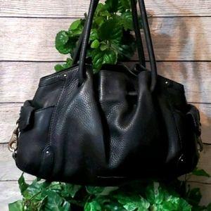 Cole Haan Black Bucket Bag